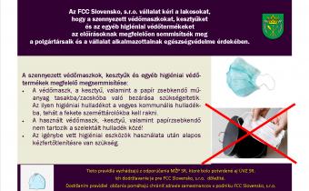 Koronavírus: a szennyezett higiéniai eszközök megsemmisítésének módja