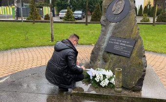 Petőfi Sándor születési évfordulója: csendes koszorúzás községünkben