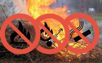 Zákaz spaľovania odpadov zo záhrad a domácností