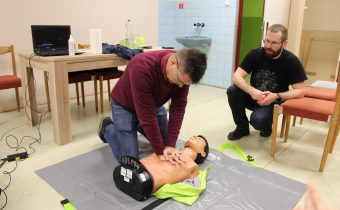 Interaktívne predstavenie o poskytnutí prvej pomoci