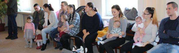 Slávnostné uvítanie novorodencov