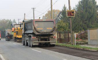 Rekonštrukcia cesty II. triedy č. 561 v obci Topoľníky
