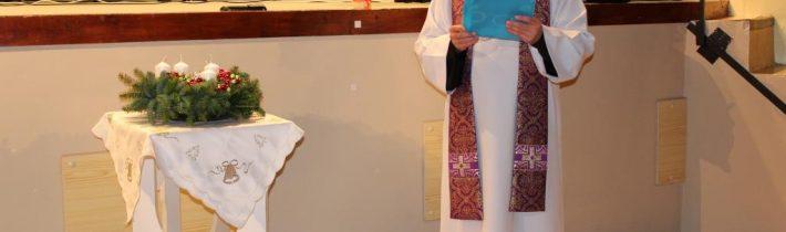 Adventi ünnepkör – 1. gyertyagyújtás